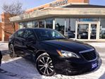2013 Chrysler 200 S LIMITED WITH LEATHER & POWER SUNROOF in Mississauga, Ontario