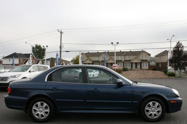 2005 hyundai sonata gl automatique saint jean sur richelieu quebec car for sale 1912760. Black Bedroom Furniture Sets. Home Design Ideas