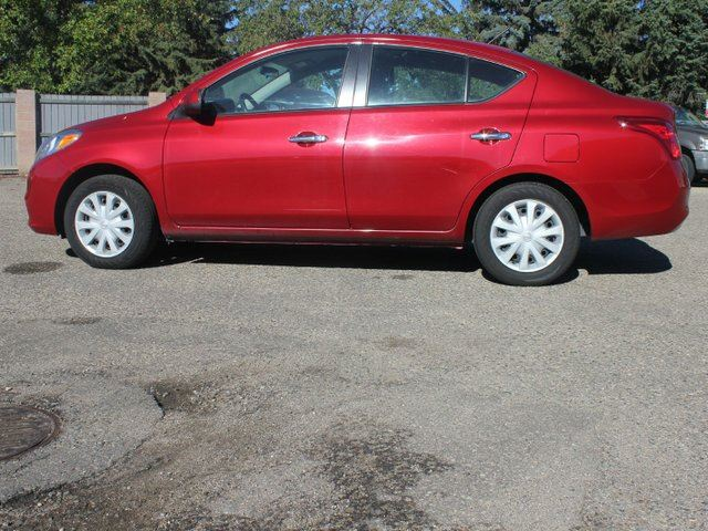 2012 NISSAN VERSA 1.6 SV 4dr Sedan in Lethbridge, Alberta