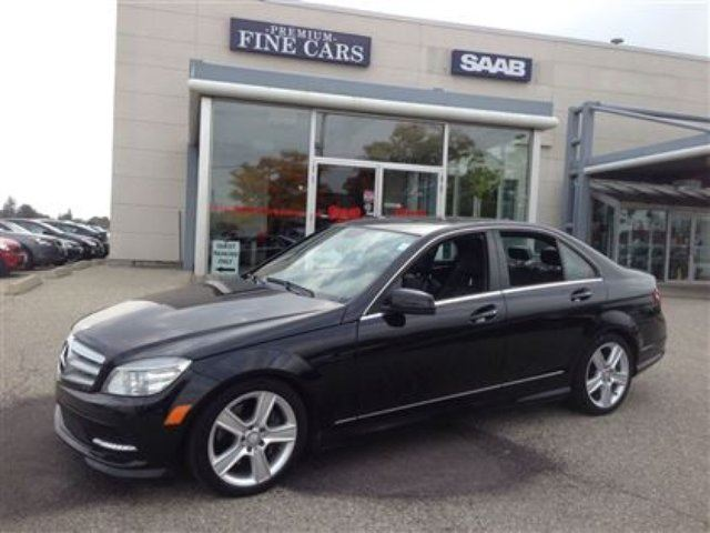 2011 mercedes benz c class c300 4matic leather no for Mercedes benz 2011 c300 for sale