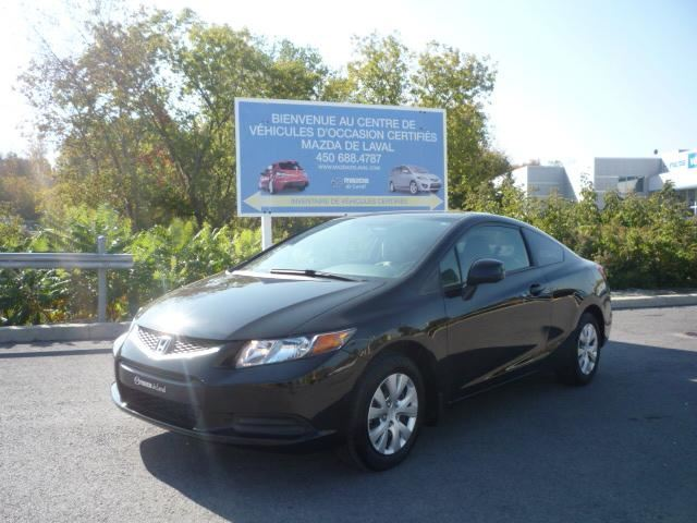 2012 Honda Civic LX COUPE in Laval, Quebec