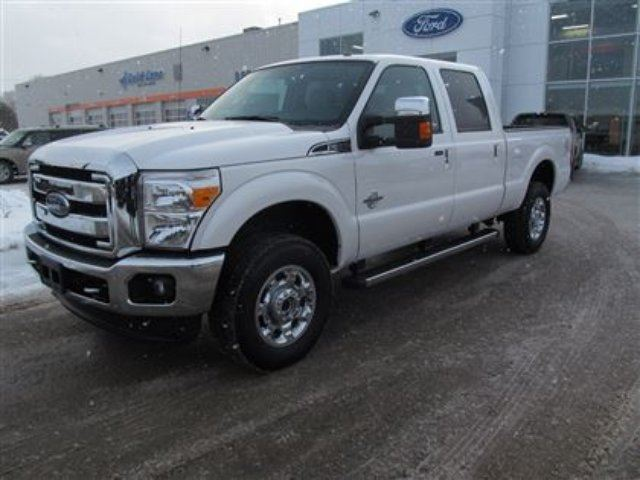 2015 ford f 350 lariat 4x4 diesel new leather nav moonroof midland ontario used car for. Black Bedroom Furniture Sets. Home Design Ideas