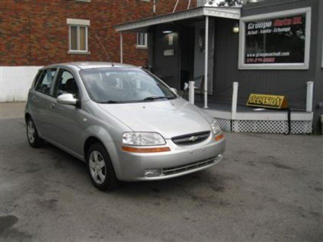 2005 Chevrolet Aveo  LT, A/C, GR. ?LECTRIQUE,MP3..... in Montreal, Quebec
