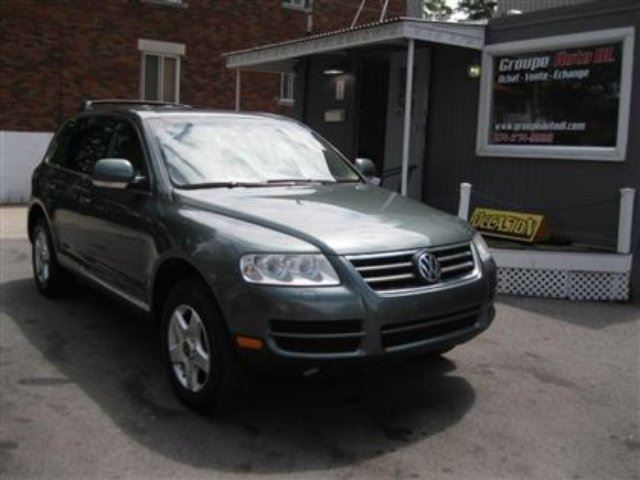 2004 volkswagen touareg 4x4 tout quip navigation cuir. Black Bedroom Furniture Sets. Home Design Ideas