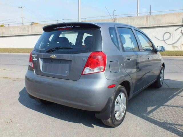2007 chevrolet aveo lt 4dr hatchback longueuil quebec. Black Bedroom Furniture Sets. Home Design Ideas