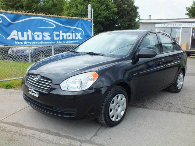 2006 hyundai accent gl 4dr sedan longueuil quebec car. Black Bedroom Furniture Sets. Home Design Ideas
