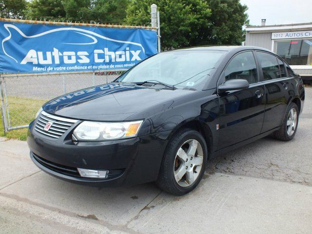 2006 saturn ion 3 uplevel black autos choix. Black Bedroom Furniture Sets. Home Design Ideas
