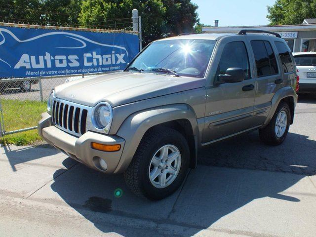 2004 jeep liberty sport 4dr 4x4 beige autos choix. Black Bedroom Furniture Sets. Home Design Ideas