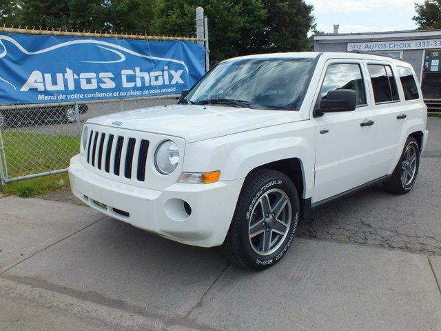 2009 JEEP PATRIOT Sport/North 4dr Front-wheel Drive in Longueuil, Quebec