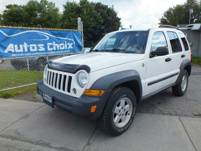 2007 JEEP LIBERTY Sport 4dr 4x4 in Longueuil, Quebec