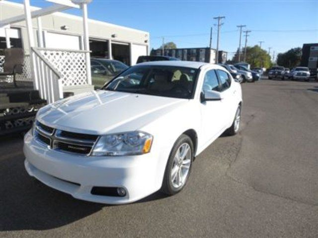 2013 dodge avenger sxt white dodge city auto. Black Bedroom Furniture Sets. Home Design Ideas