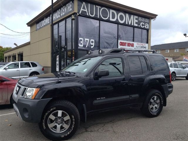 2010 nissan xterra off road 6 speed manual canadian mississauga ontario used car for sale. Black Bedroom Furniture Sets. Home Design Ideas