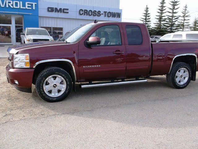 2013 chevrolet silverado 1500 ltz 4x4 extended cab 6 6 ft box 143 5 in wb roblin manitoba. Black Bedroom Furniture Sets. Home Design Ideas