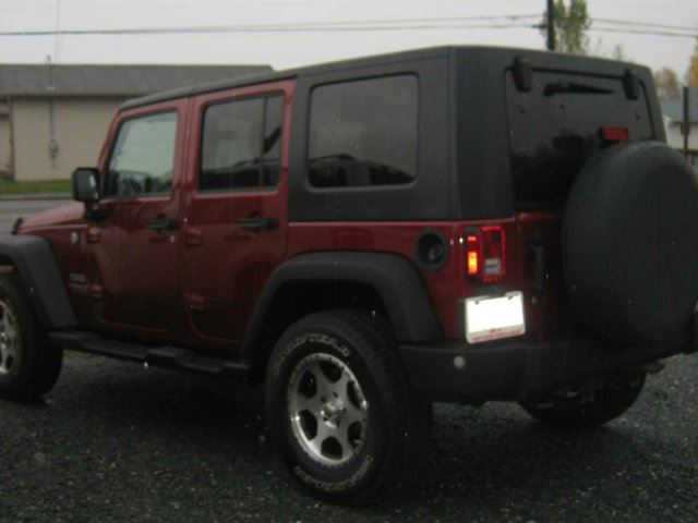 2012 JEEP WRANGLER Unlimited Sport 4dr 4x4 in Chelmsford, Ontario