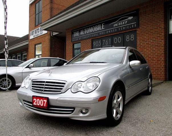 Vehicle details for Mercedes benz 2007 c230