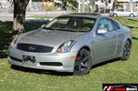 2004 Infiniti G35 Automatic Sunroof Leather in Brampton, Ontario