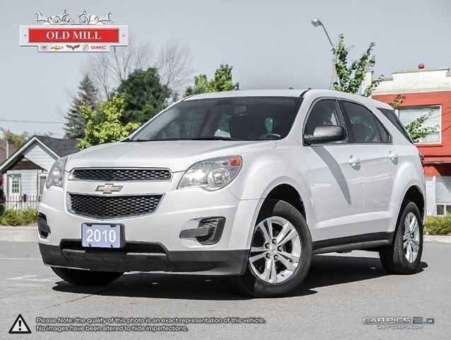 2010 chevrolet equinox awd local suv accident free toronto ontario used car for sale 1919096. Black Bedroom Furniture Sets. Home Design Ideas