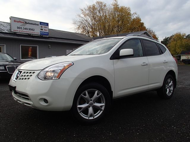 2009 nissan rogue sl awd white grafton automotive. Black Bedroom Furniture Sets. Home Design Ideas