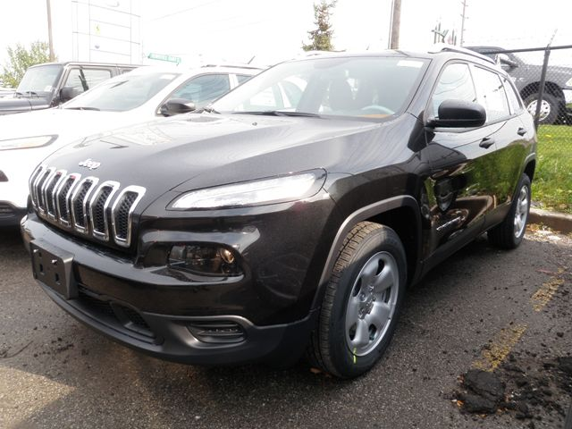 2015 jeep cherokee sport 4x2 woodbridge ontario new car for sale. Black Bedroom Furniture Sets. Home Design Ideas