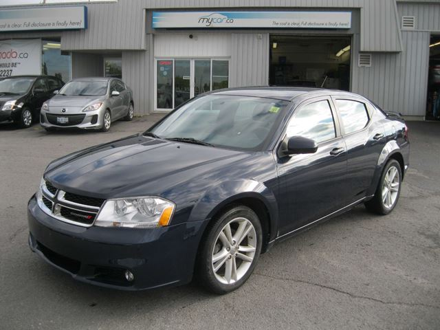 2014 Dodge Avenger Sxt Blue My Car Kingston Wheels Ca