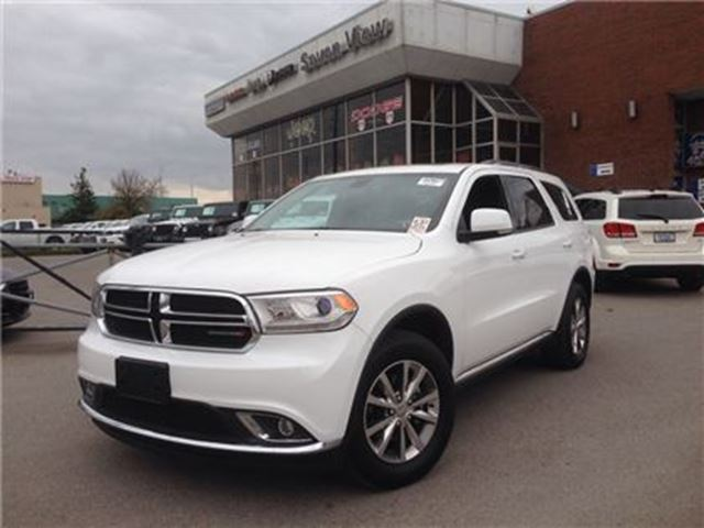 2014 dodge durango limited leather dual dvd sunroof concord ontario. Cars Review. Best American Auto & Cars Review