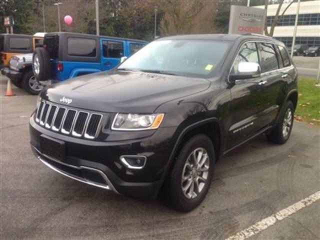 2014 jeep grand cherokee limited richmond british columbia used car for sale 1929077. Black Bedroom Furniture Sets. Home Design Ideas