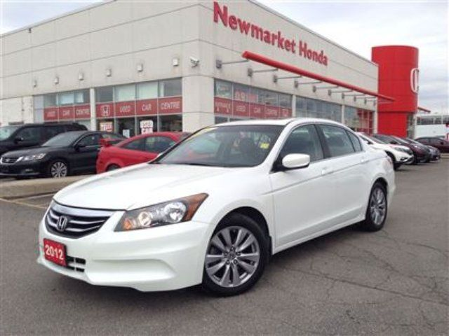 2012 honda accord ex l newmarket ontario used car for. Black Bedroom Furniture Sets. Home Design Ideas
