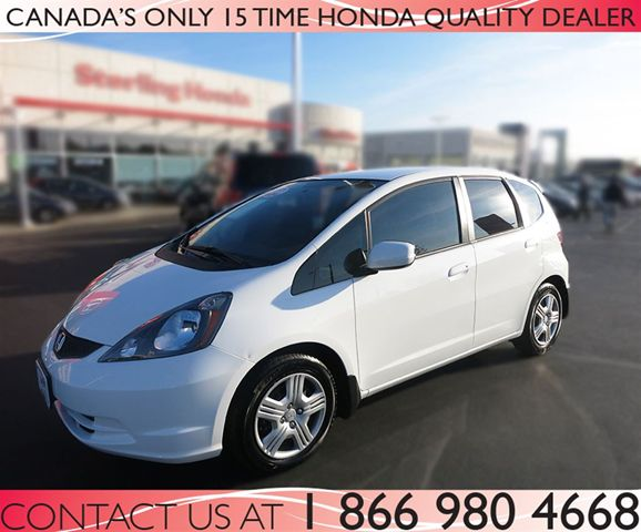 2013 honda fit lx automatic certified hamilton ontario for Certified used honda fit