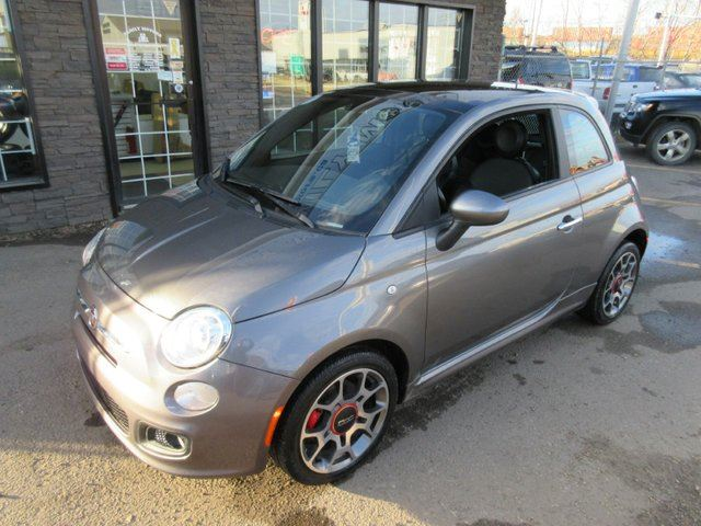 2012 Fiat 500 Sport 2dr Hatchback Black Family Motors