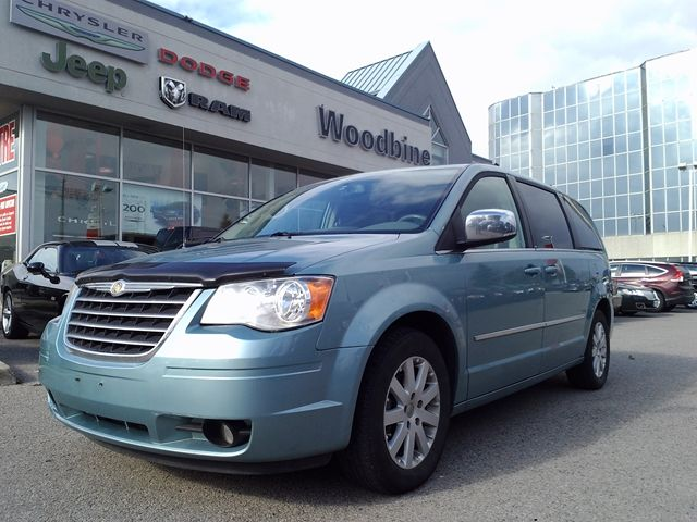 2010 chrysler town and country touring blue woodbine chrysler ltd. Cars Review. Best American Auto & Cars Review