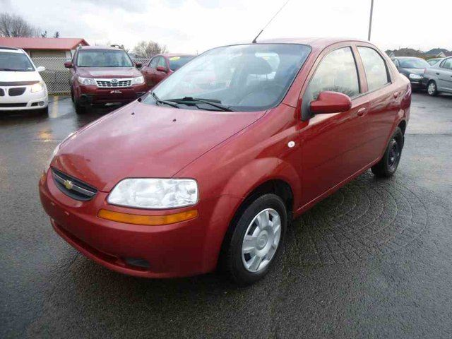 2006 chevrolet aveo ls quebec quebec used car for sale. Black Bedroom Furniture Sets. Home Design Ideas