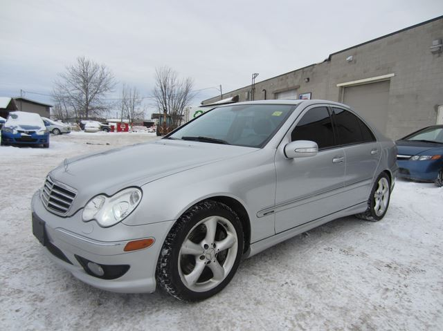 Vehicle details for Mercedes benz c230 kompressor 2005