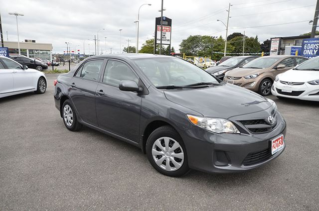 2013 Toyota Corolla L 4 Speed At Whitby Ontario Car For
