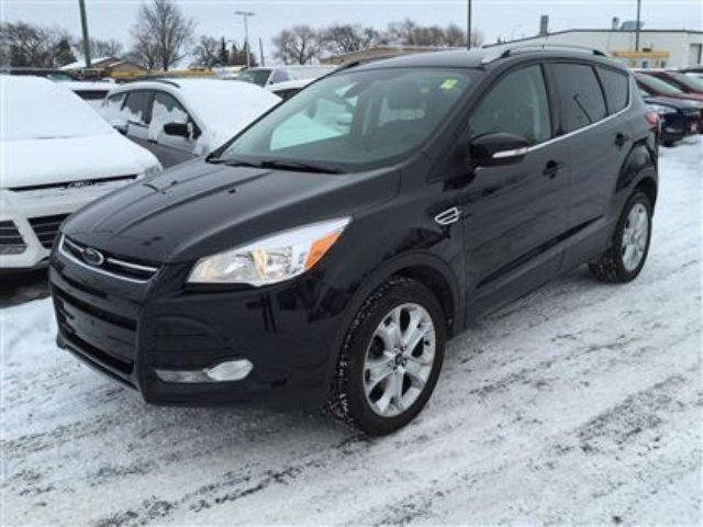 2014 ford escape titanium 4wd ecoboost navigation pano roof winnipeg manitoba used car for. Black Bedroom Furniture Sets. Home Design Ideas