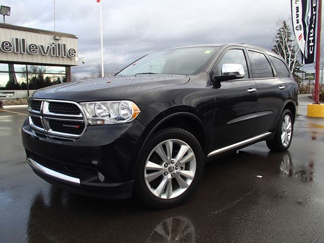 2013 dodge durango crew plus dvd sunroof nav belleville. Black Bedroom Furniture Sets. Home Design Ideas