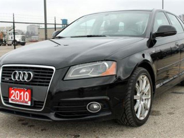2010 audi a3 2 0t s line quattro awd certified waterloo ontario used car for sale. Black Bedroom Furniture Sets. Home Design Ideas