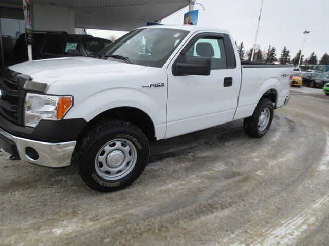 2014 ford f 150 xl 4x4 regular cab 126 in lacombe alberta used car for sale 2011827. Black Bedroom Furniture Sets. Home Design Ideas