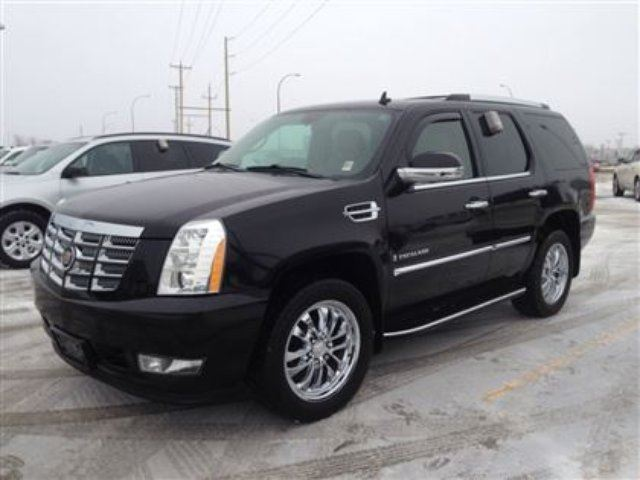 2009 cadillac escalade navigation sunroof dvd winnipeg manitoba used car for sale 1949801. Black Bedroom Furniture Sets. Home Design Ideas