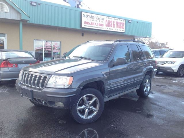2002 jeep grand cherokee overland bolton ontario used car for sale 1951721. Black Bedroom Furniture Sets. Home Design Ideas