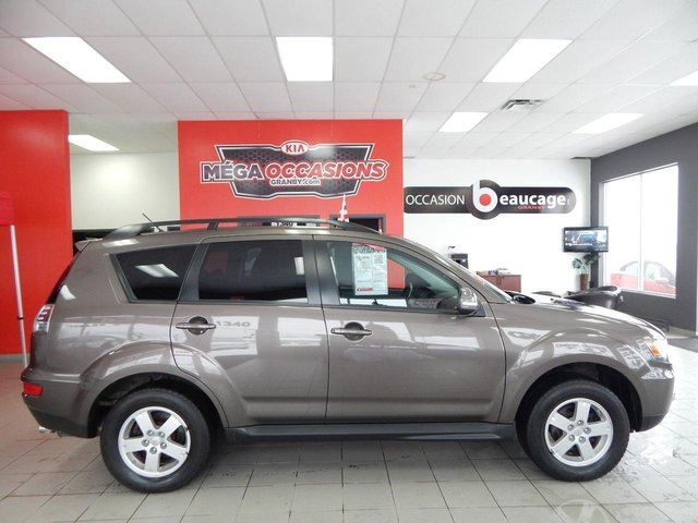 used 2010 mitsubishi outlander ls v6 3 0 awd 7 places a voir garantie 2020 160 000 km. Black Bedroom Furniture Sets. Home Design Ideas