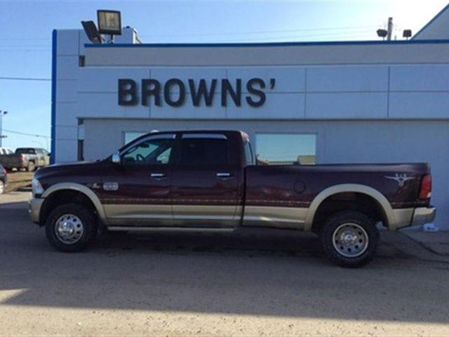 2012 DODGE RAM 3500 Laramie Longhorn / Limited Edition in Dawson Creek, British Columbia