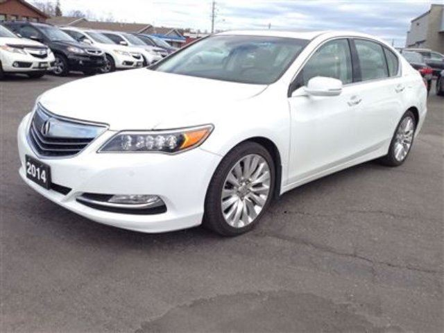 2014 acura rlx elite package thunder bay ontario used. Black Bedroom Furniture Sets. Home Design Ideas