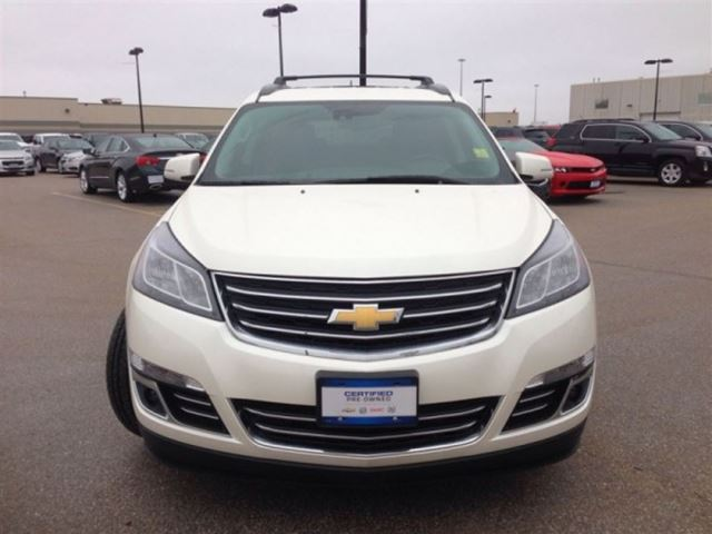 2014 chevrolet traverse ltz awd heated cooled seats suv orillia ontario used car for sale. Black Bedroom Furniture Sets. Home Design Ideas