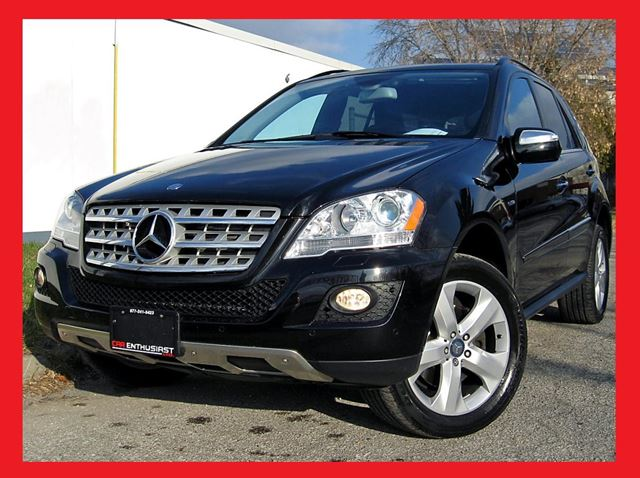 2010 mercedes benz m class ml350 bluetec scarborough