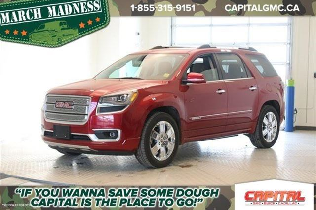 2014 gmc acadia denali regina saskatchewan used car for sale 1978271. Black Bedroom Furniture Sets. Home Design Ideas