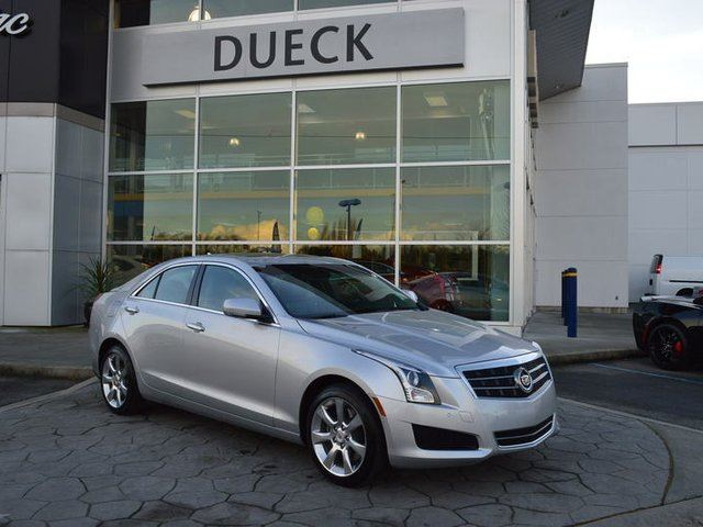 2014 CADILLAC ATS 2.0L Turbo Luxury in Richmond, British Columbia