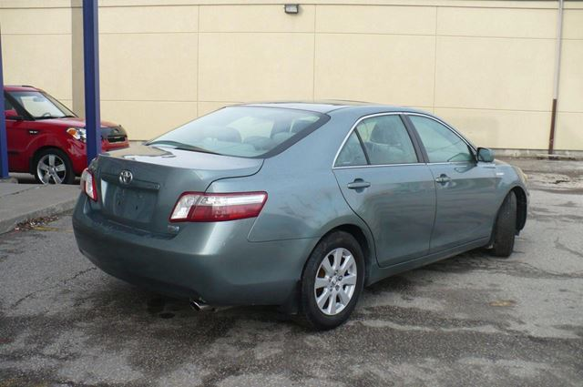 2008 toyota camry hybrid xle green for 10998 in toronto. Black Bedroom Furniture Sets. Home Design Ideas