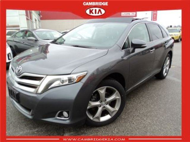 2013 Toyota Venza V6 Navigation Leather Sunroof