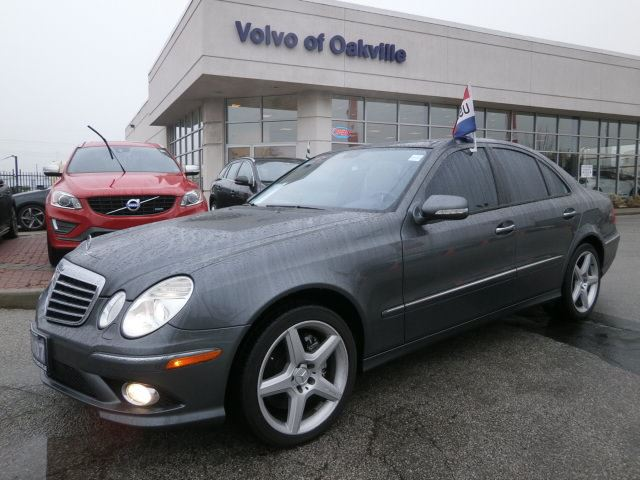 2007 mercedes benz e class e550 4matic oakville ontario for Mercedes benz ontario dealers