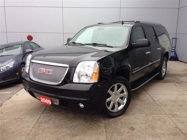 2009 gmc yukon denali toronto ontario used car for sale 1990650. Black Bedroom Furniture Sets. Home Design Ideas
